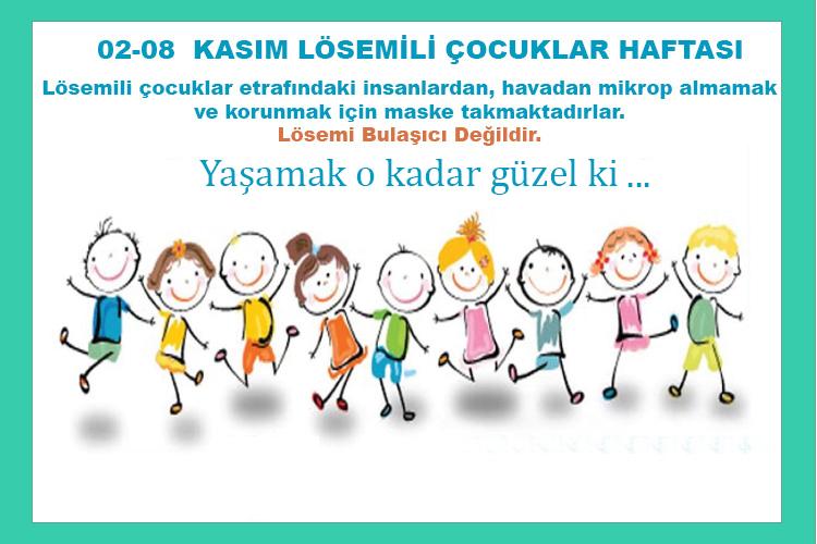 Demirbaş Medikal 2-8 Kasım Lösemili Çocuklar Haftası